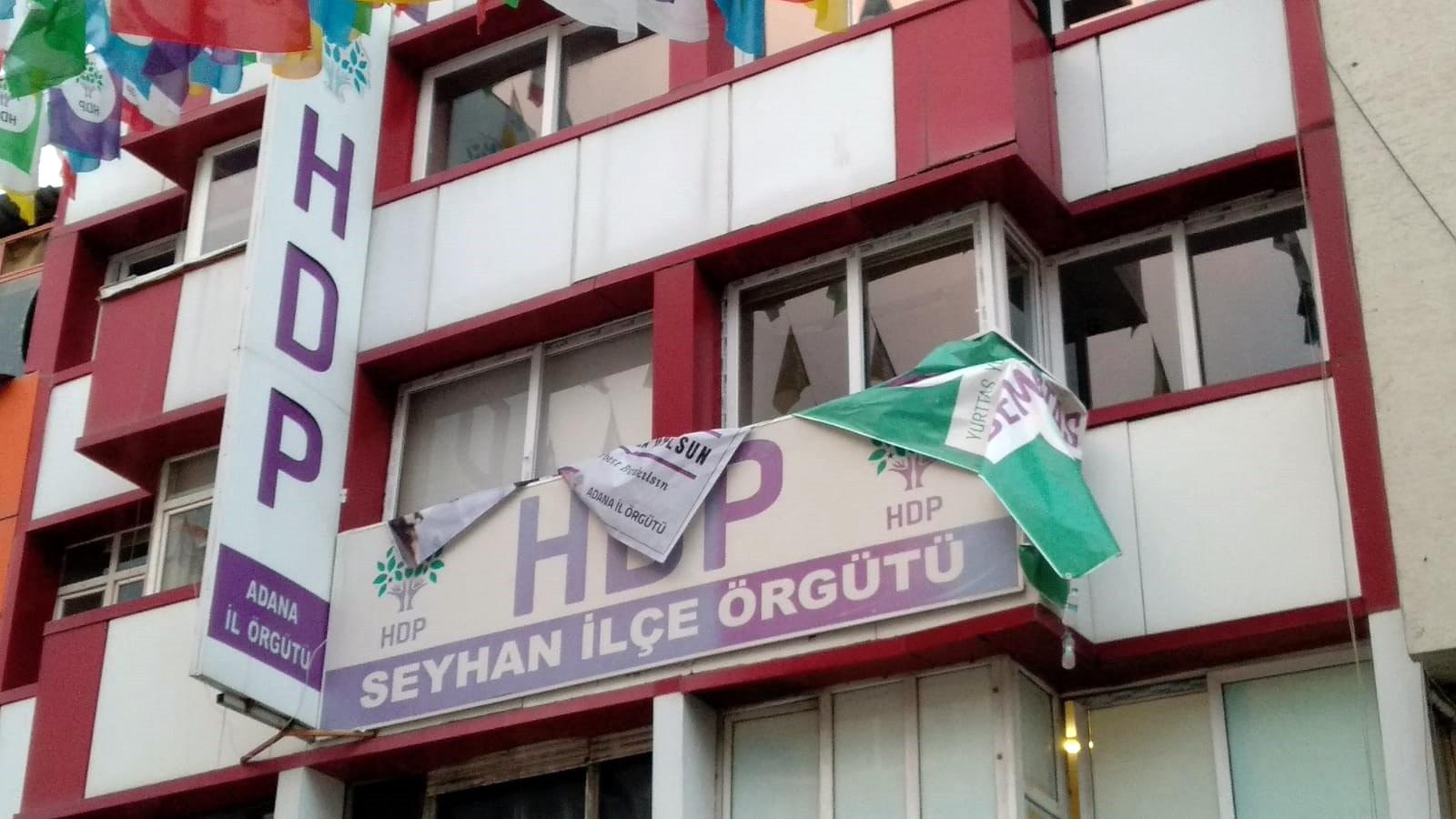 HDP il binasında PKK propagandasına 5 gözaltı