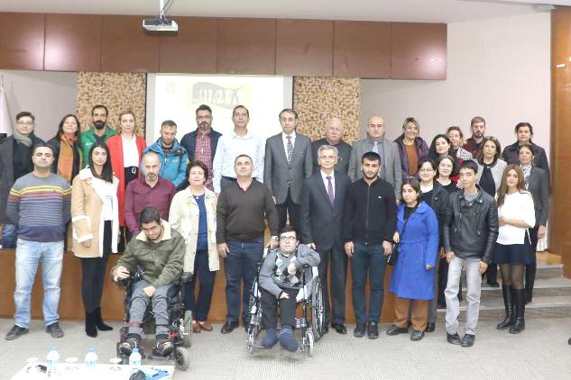 ÇÜ engelli öğrenci temsilcisi seçimi yapıldı