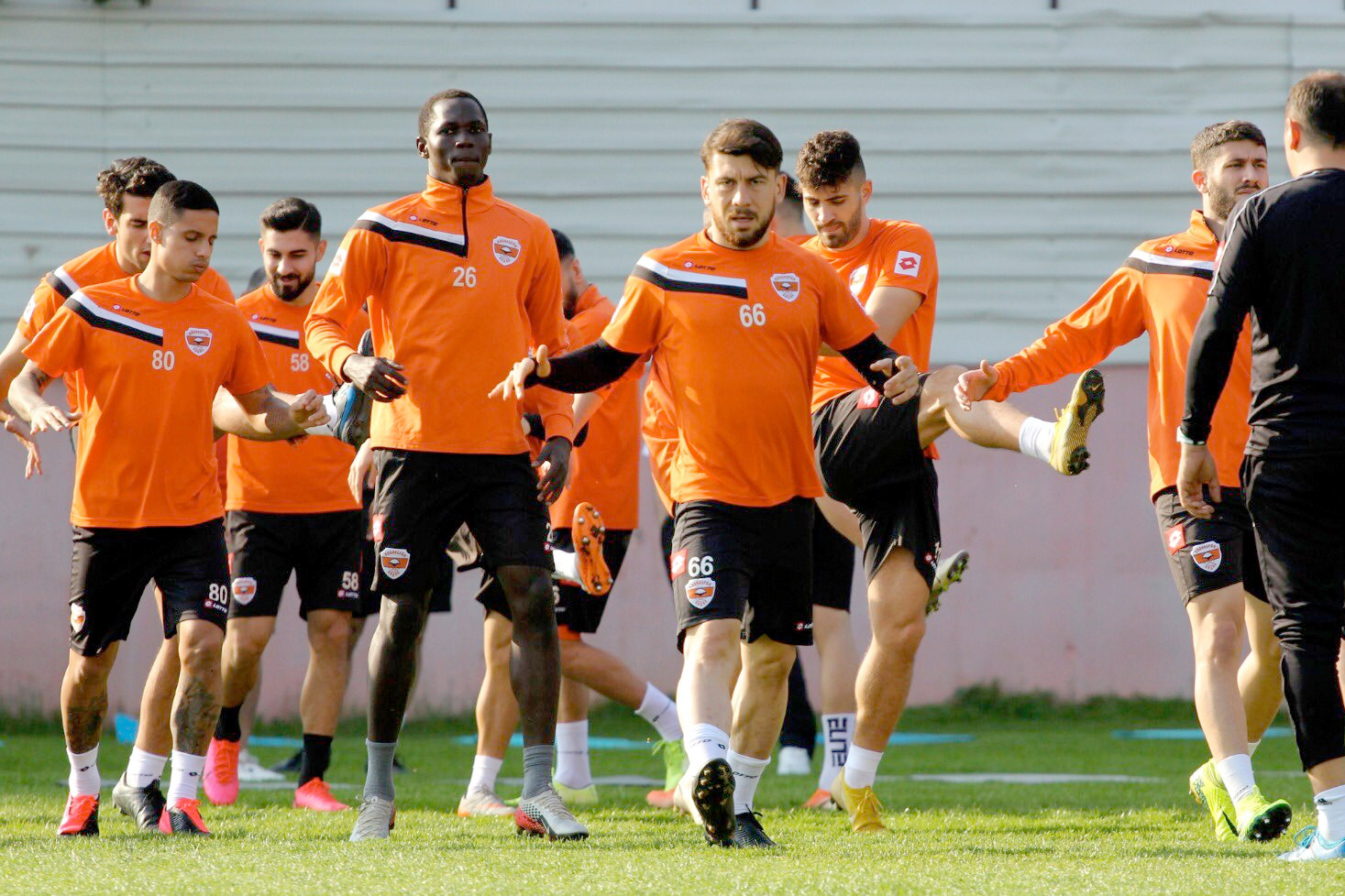 Adanaspor ligin en hırçın takımı