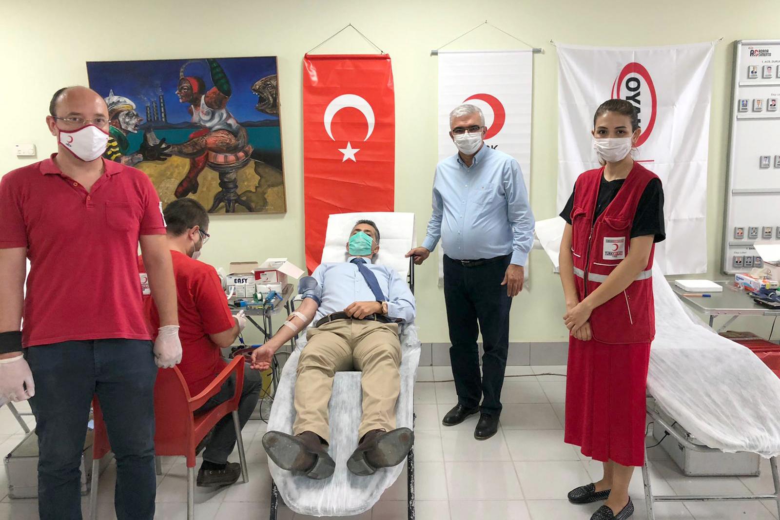 Sanayicilerden Kızılay'a Tam Destek