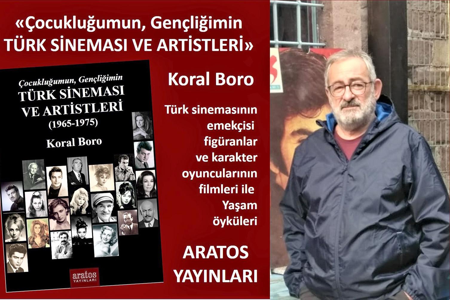 """""""TÜRK SİNEMASI VE ARTİSTLERİ"""" KİTABI ÇIKTI"""