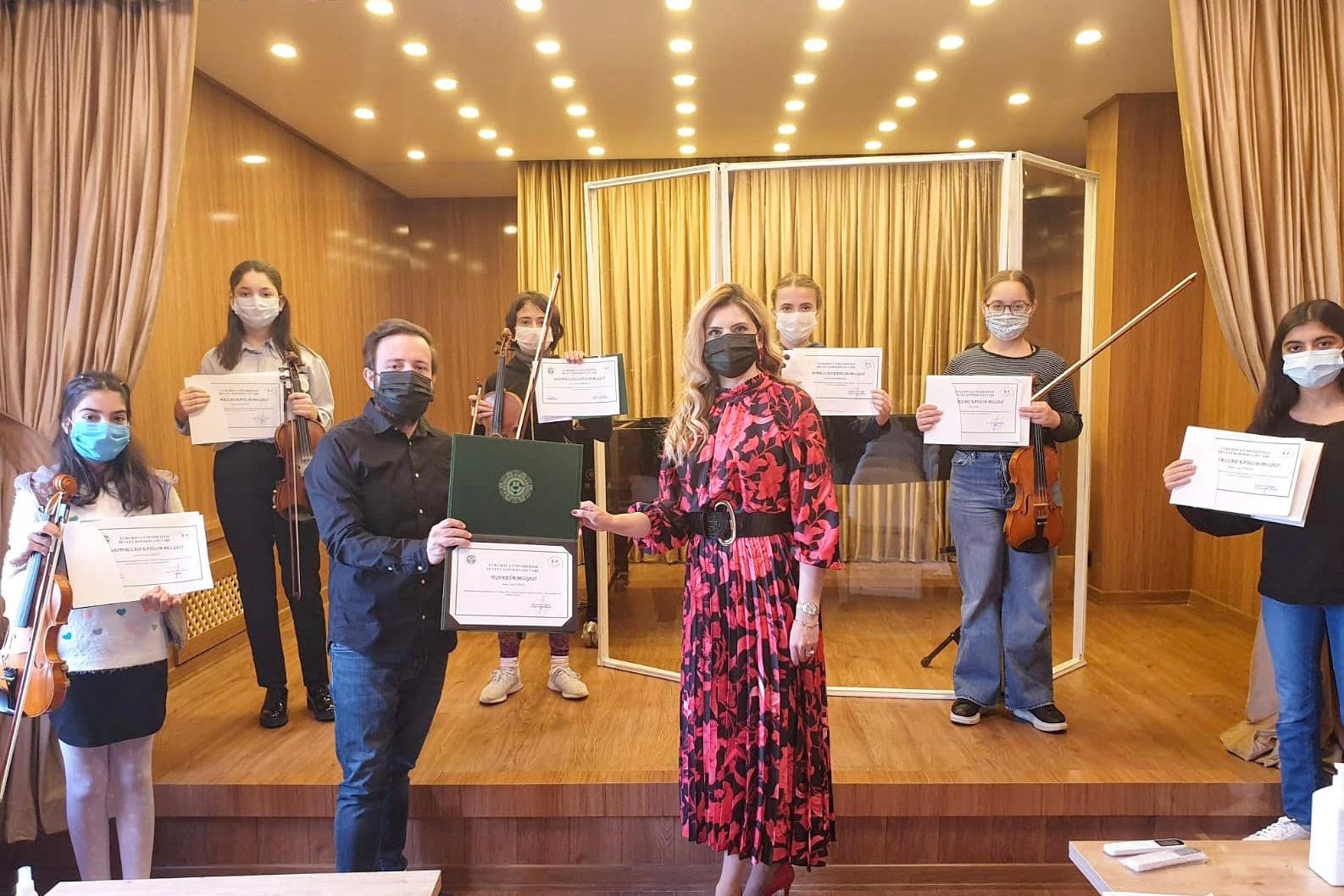 Türk ve Azeri akadeisyenler anma konserinde bir araya geldi