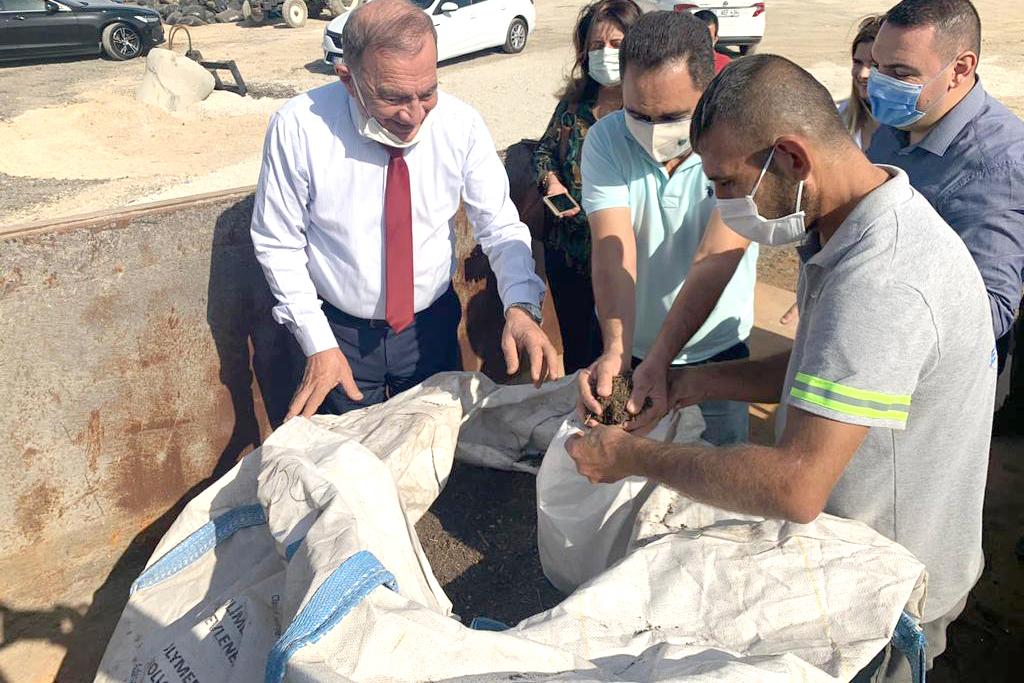 Seyhan'da atıklardan kompost üretimi