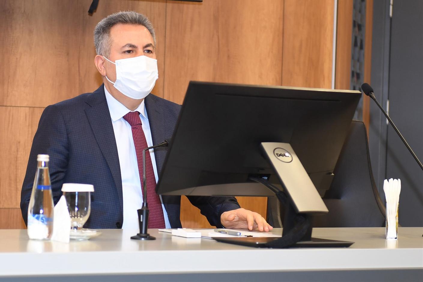 Vali Elban: Biz burada devletin temsilcisiyiz