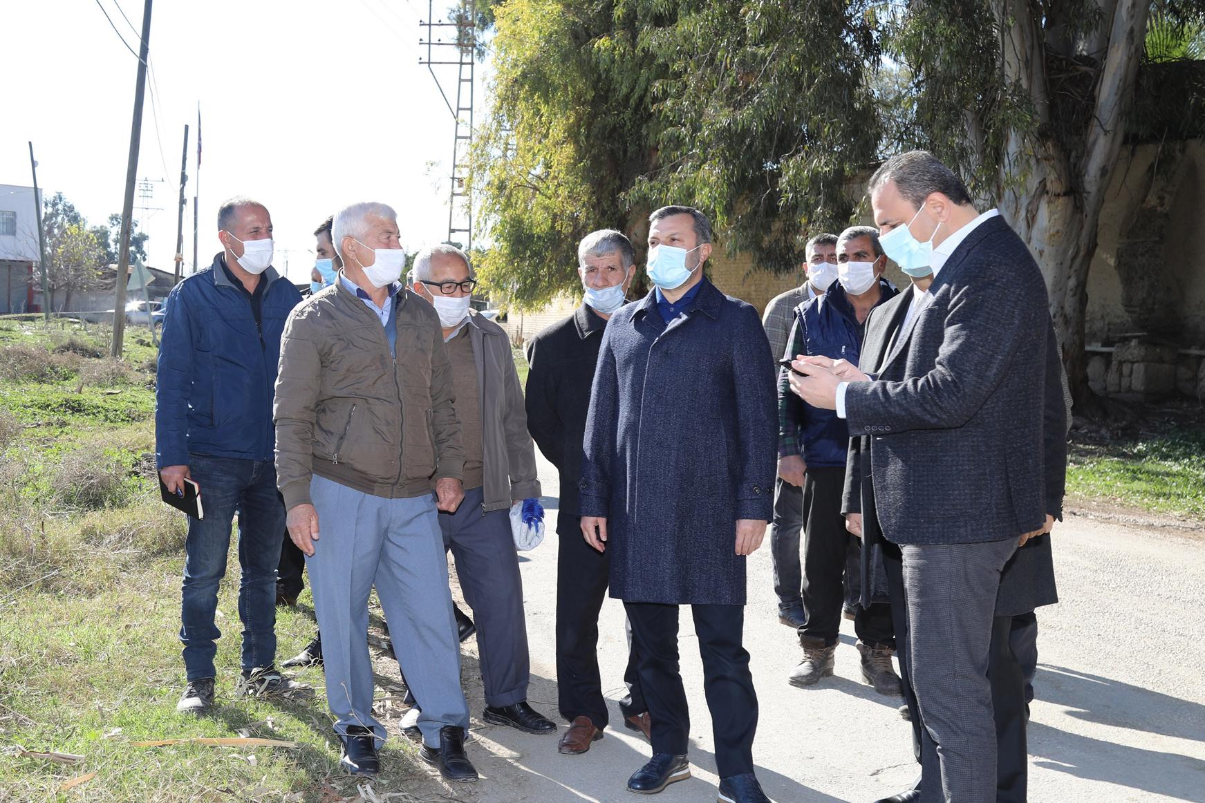 Başkan Kocaispir, kırsal mahalleleri ziyaret etti