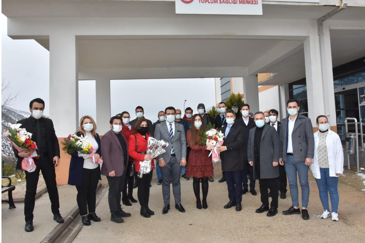 Başkan Mehmet Ay'dan ilçe ziyareti