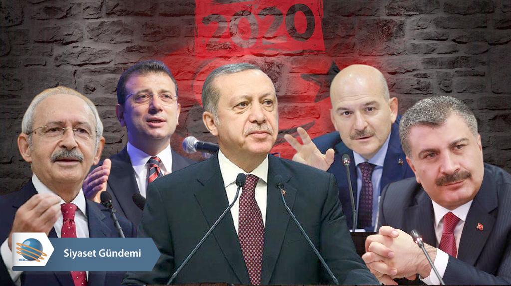2020 yılında öne çıkan siyasi konular ve isimler