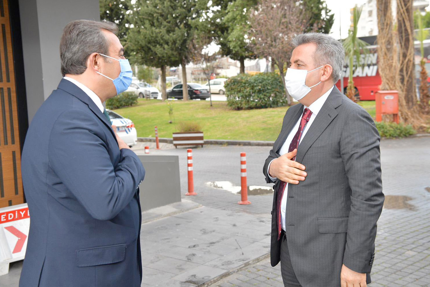 Vali Elban, 'Tüm kurumlarla işbirliğii içerisinde çalışacağız'