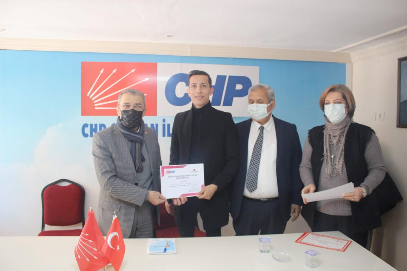 CHP İL ÖRGÜTÜ HIZ KESMİYOR