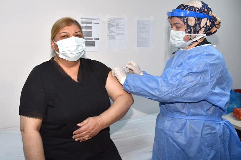 Erdem, korona aşısı oldu