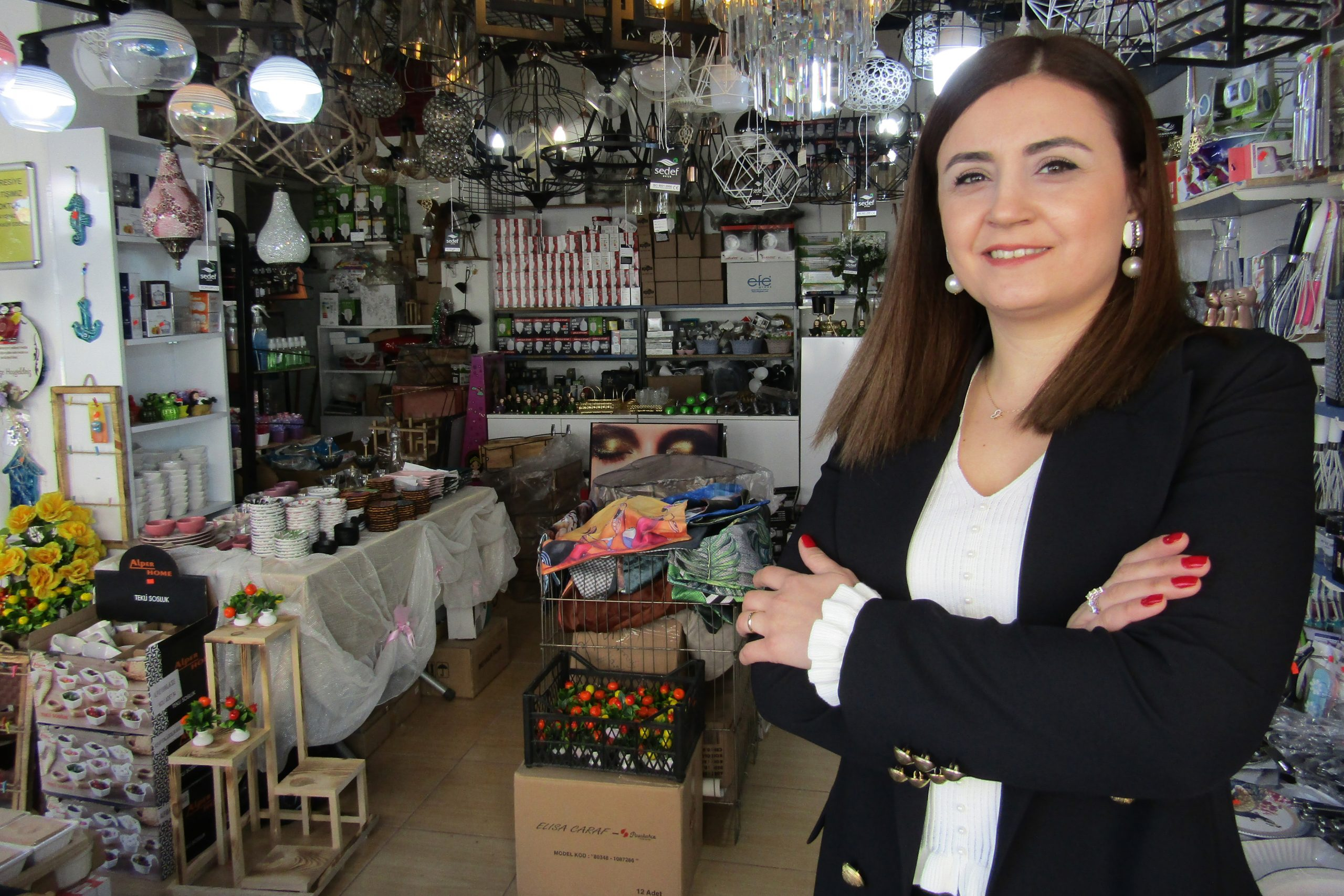 Kadın girişimciden fark yaratan başarı
