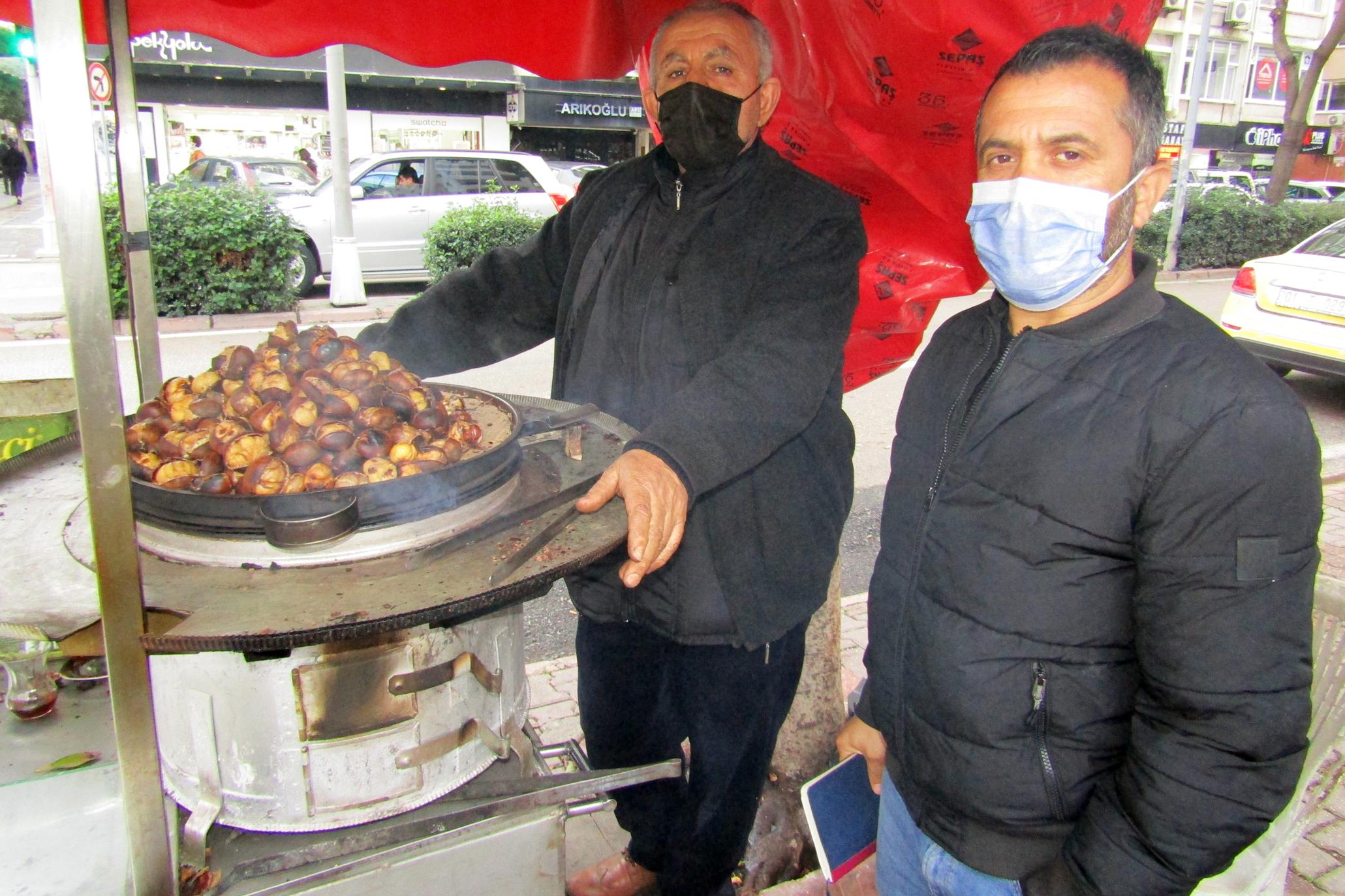 Sokak satıcıları, Zeydan Karalar'dan destek bekliyor