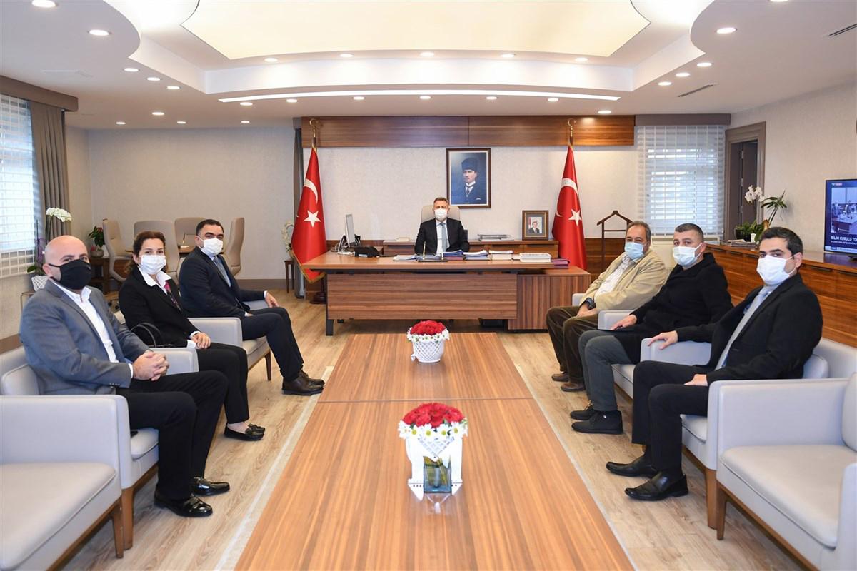 Çiftçiler sorunlarını Vali Elban'a anlattı