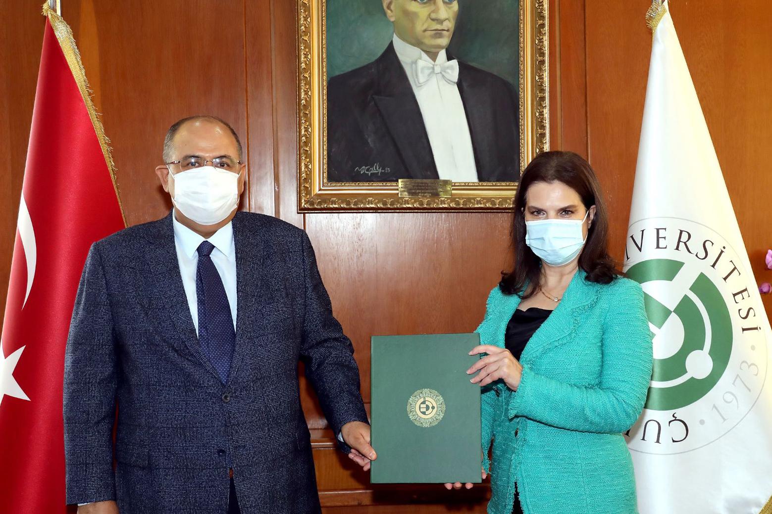 ÇÜ ile AFAD arasında protokol imzalandı