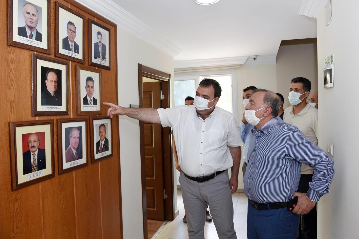 Başkan Akay'dan,ASKF'ye ziyaret
