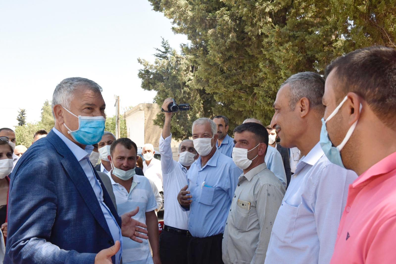 Gaziantep halkı Başkan Karalar'ı bağrına bastı