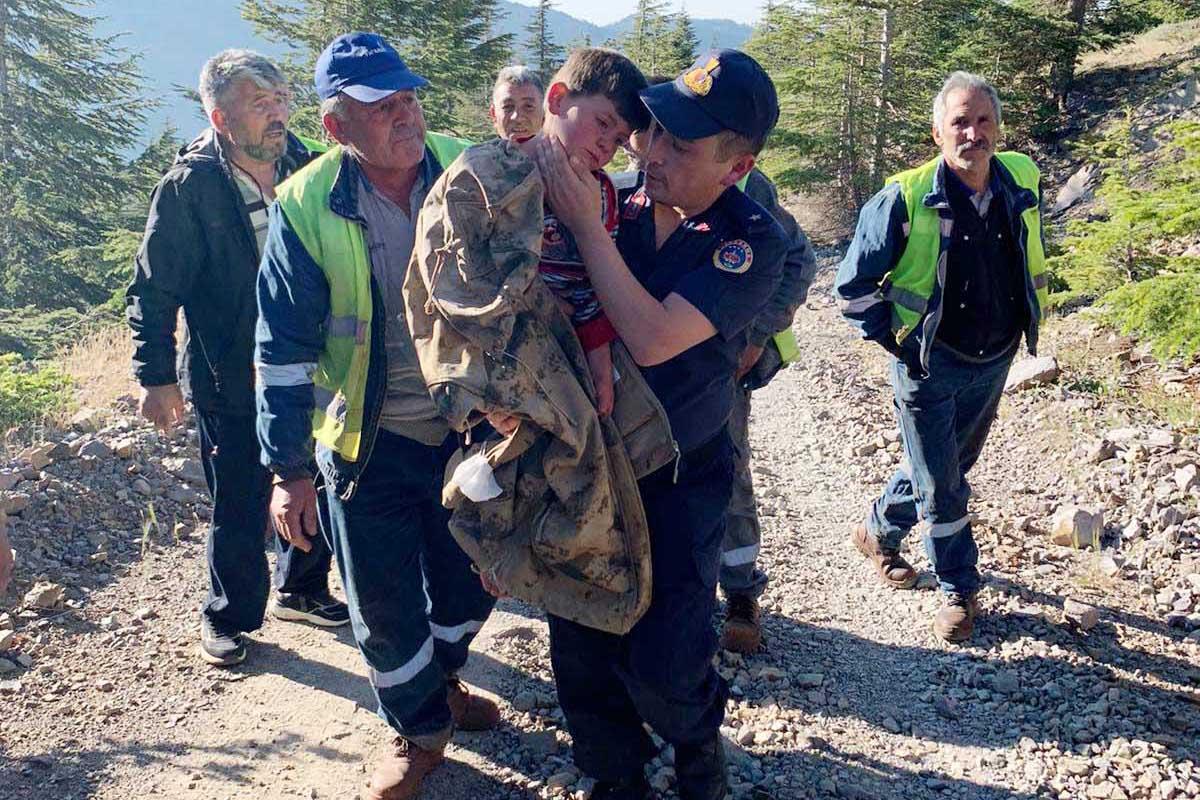 Kaybolan 2 çocuk bulundu