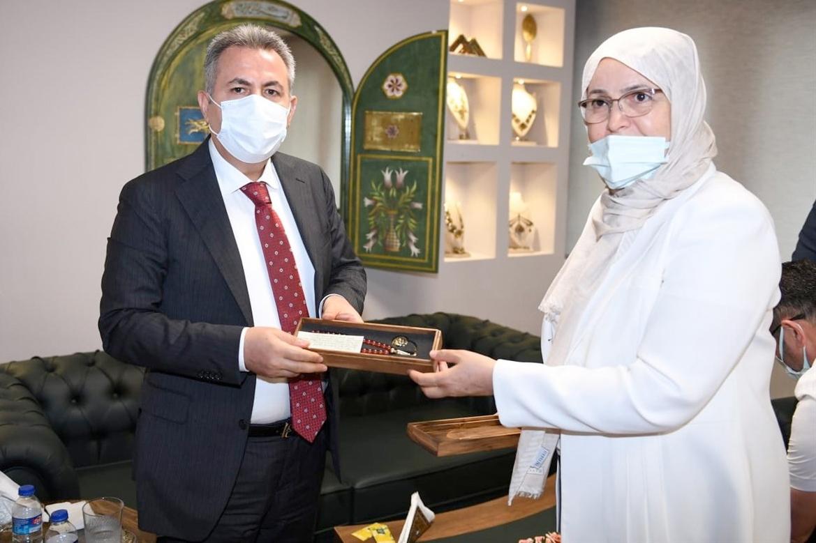 Vali Elban, Olgunlaşma Enstitüsü'nün konuğu oldu