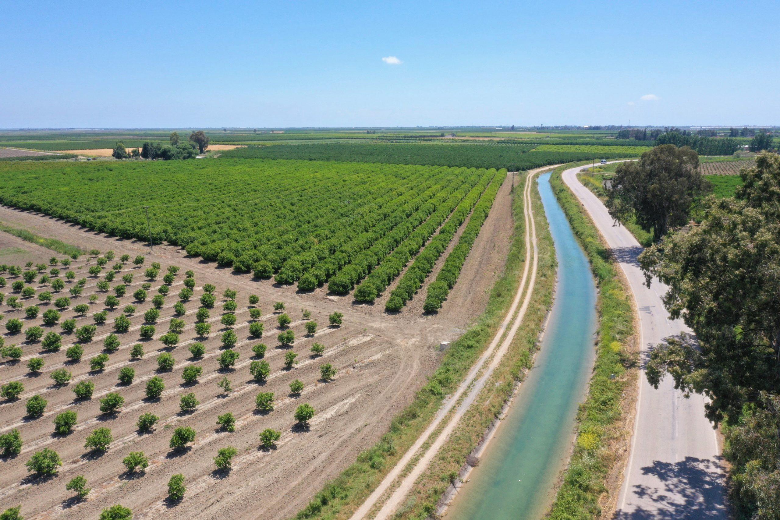 Adana'da sulama sezonu başladı