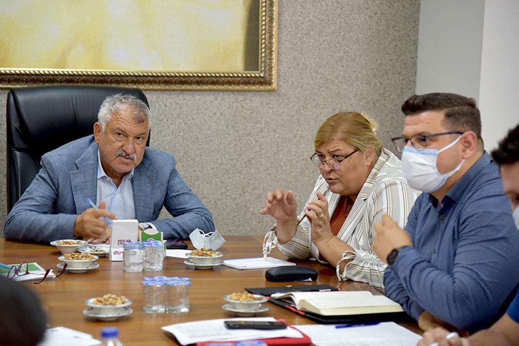Başkanlar Ceyhan'ın sorunları için buluştu