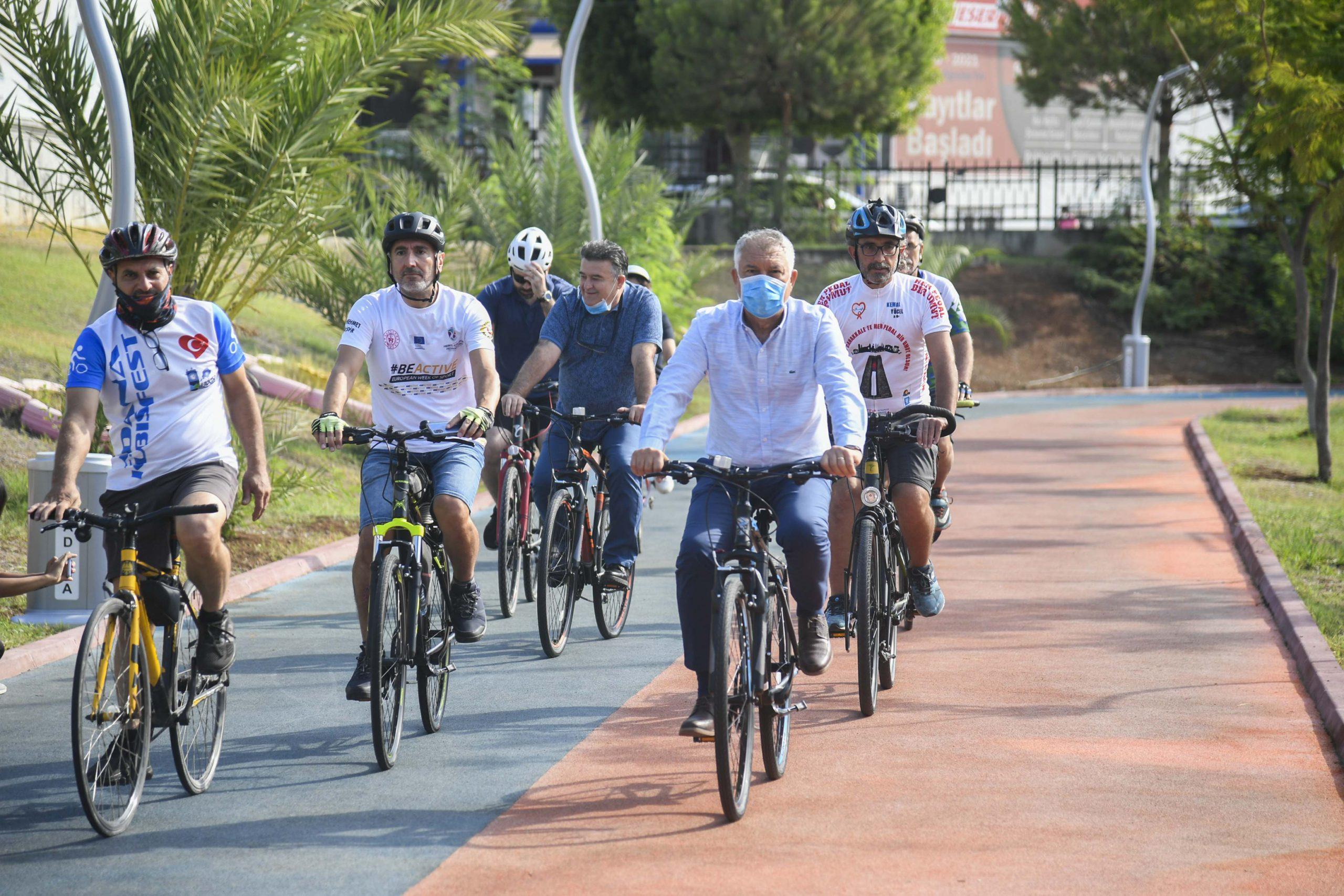 Şimdi bisiklet zamanı