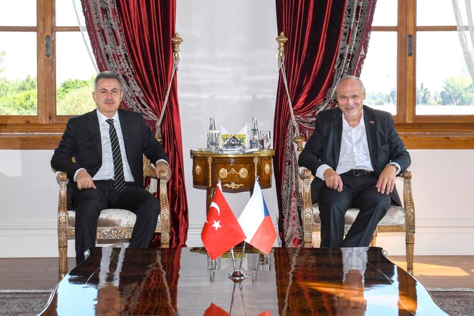 Büyükelçi Vacek'ten Vali Elban'a ziyaret
