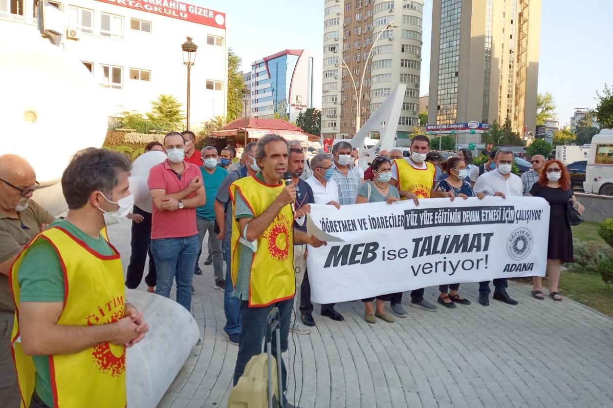 'MEB İSE TALİMAT VERİYOR'
