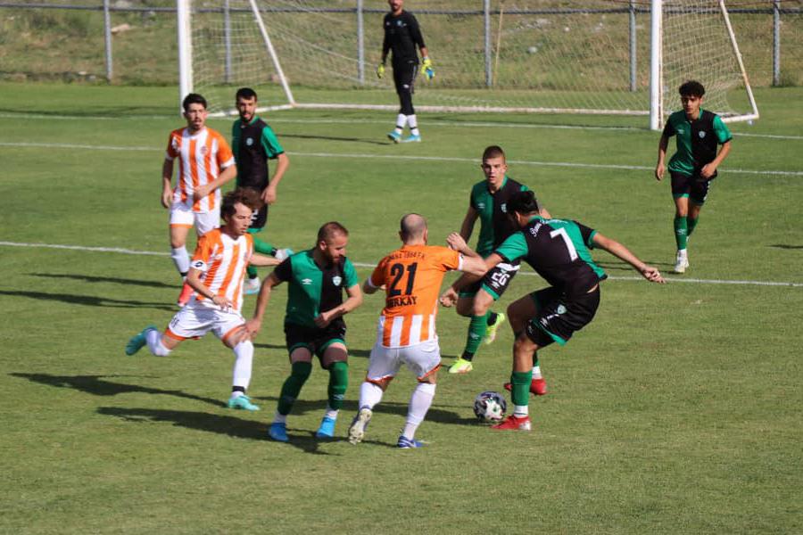 Pozantı Belediyespor: 1 – Adana 1954 FK: 1