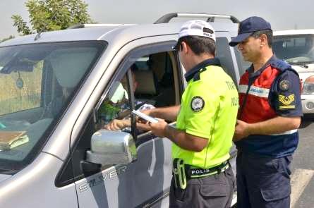 648 sürücünün ehliyetine el konuldu